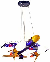 Night Light Creative Cartoon Airplane Chandelier