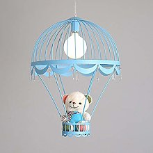 Night Light Cute Bear Parachute Chandelier