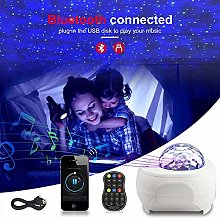 Night Light Projector with 15 Colors & Remote