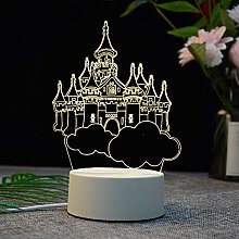 Night Lights - 3D USB Acrylic Night Light LED