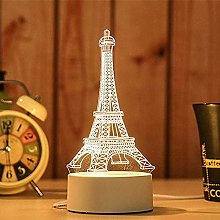 Night Lights - 3D USB Acrylic Night Light LED