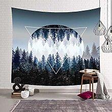 Night sky starry sky landscape tapestry cheap