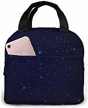 Night-Sky-Stars Lunch Bag Reusable Lunch Box Lunch