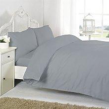 KLAZE Cot Duvet Cover bed set in 100/% Natural Egyptian 200 Thread Count Cotton Quilt Cover White Colour