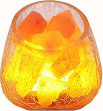 Nightstand Lamp Table Lamp Crystal Salt Lamp Rose