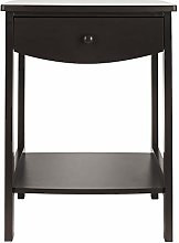 NightstandCoffee Side Table With Two Drawer