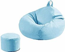 NIHAOA Bathroom seat Yaowen Lazy Sofa Bean Bag