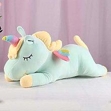 NIJU Soft toy rainbow-style unicorn toy, stuffed