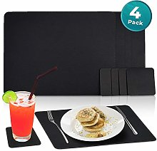 Nikalaz Set of Placemats and coasters, 4 table