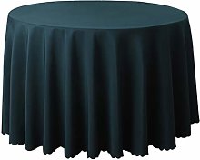 Nikgic. Big Round Tablecloth Polyester Restaurant