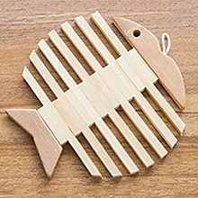 NIKIMI Chic Creative Placemat Wooden Trivet Home
