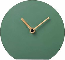 NIKKY HOME Silent Iron Table Clock Scale-free No