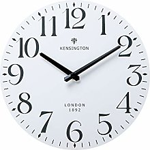 NIKKY HOME Wall Clock Battery Operated Silent Non