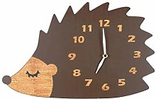 NIKKY HOME Wooden Wall Clock for Child's Room