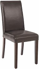 Niko Chair Pack Of 2 Chairs Red Cream Brown Black