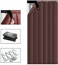Nileco Thermal Door Panel Curtain, Thicken Front