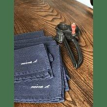 Nina d Homeware - Dark Grey 100 Linen Napkin Set