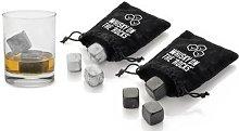 Nine-Piece Whiskey Stone Set: Dark Grey/Two Sets