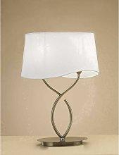 Ninette Table Lamp 2 Bulbs E14 Large, antique