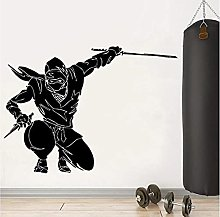 Ninja Wall Decal Japanese Warrior Samurai Martial