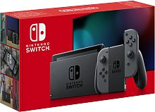 Nintendo Switch Console - Grey with improved