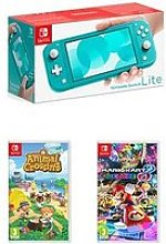 Nintendo Switch Lite Console With Animal Crossing