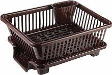 NISHAJ Kitchen Sink Drainer Basket for Mess &