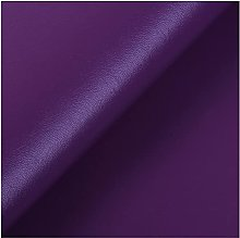 NIUFHW Pure Color Artificial Leather 1 Yard