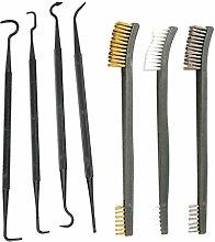 niumanery 7pcs/set 3 Brushes 4 Needles Hooks