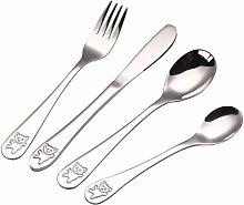 niumanery Baby Teaspoon Spoon Food Feeding Fork