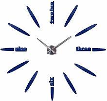 NIUMM Wall Clock Stickers Home Decoration Wall