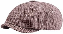 NIUPAN Beret flat cap men's cotton cap hat