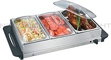 NJ-9003 Buffet Warmer Stainless Steel 300W Food