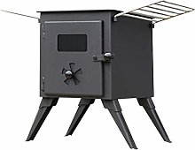 NJ Portable Wood Burning Stove Cold Rolled Steel