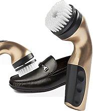 NJBYX 1 Set Electric Shoe Brush Household Polisher