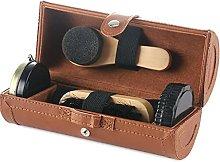NJBYX 6PCS Shoe Polish Care Kit Leather Shoe Shine