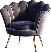 NJBYX Nordic livingroom Chairs Single Sofa Small