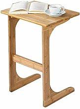NJBYX Solid Wood Tea Table Sofa Side Table Nordic
