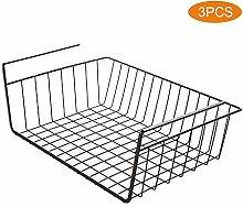 NJZYB Under Shelf Basket, Wire Storage Basket with