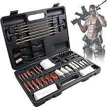 NKTJFUR Gun Cleaning Kit Pistol Rifle Shotgun