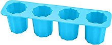 NLASHFO Novelty Cup Shape Silicone Ice Cube Shot