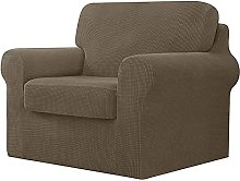 NLCYYQ Sofa Cover Sets with Separate Backrests and