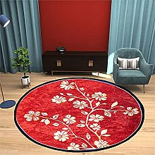 NLGGY Round Area Rug for Living Room Bedroom