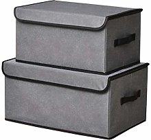 NLIAN- Foldable Fabric Storage Box, Wardrobe