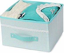 NLIAN- Storage Bin for Shelves, Fabric Closet