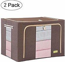 NLIAN- Storage Box, Collapsible Storage Bin