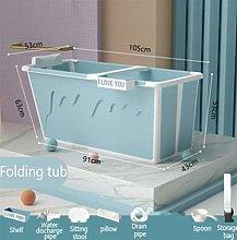 NLJYSH Adult Bathtub Portable with Adult Shower