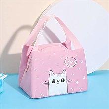 NLJYSH Oxford portable zipper lunch bag animal