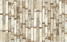 NLXL Mosaic Scrapwood Wallpaper Panel Set, PHE-02