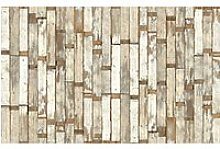 NLXL Mosaic Scrapwood Wallpaper Panel Set, PHE-02
